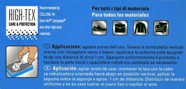 Schiuma detergente