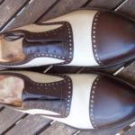Scarpe bi-colore